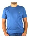 Lacoste t-shirt  uomo celeste girocollo th6709