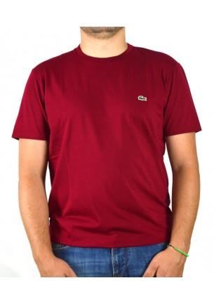 Lacoste t-shirt  uomo rosso...