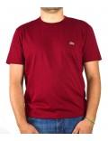 Lacoste t-shirt  uomo rosso girocollo th6709