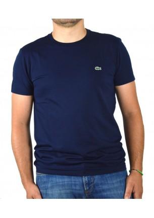 Lacoste t-shirt  uomo blu...