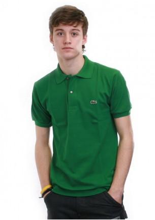 Polo lacoste verde uomo...