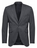 SELECTED giacca uomo grigia slim fit invernale