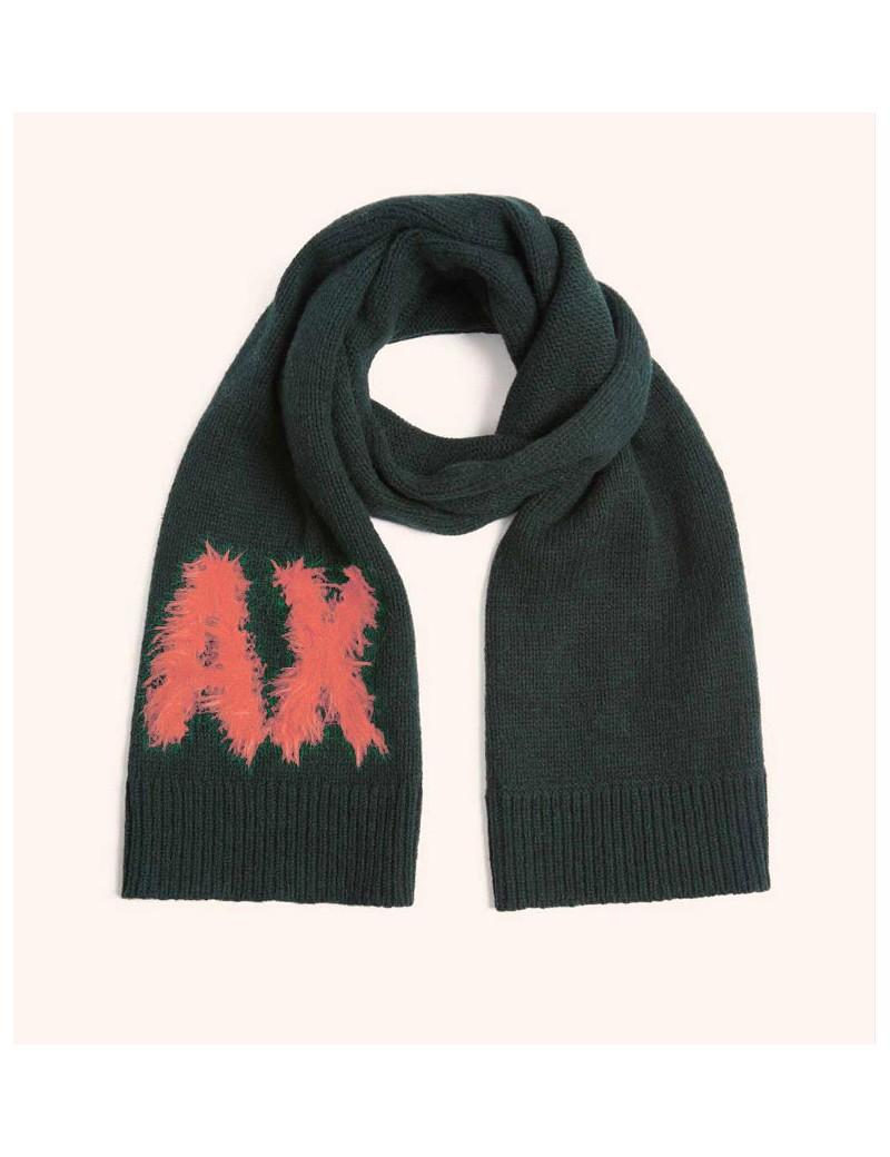 lowest price ee584 b32d3 ARMANI EXCHANGE sciarpa pashmina donna foulard nera 6ZY41B