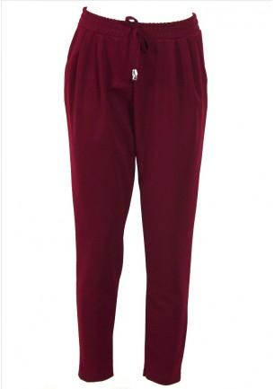 Pantalone donna rosso...