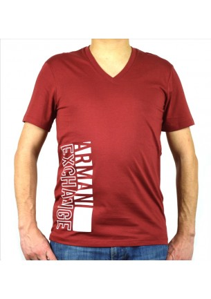 T-Shirt saldimoda Armani Exchange scollo a v
