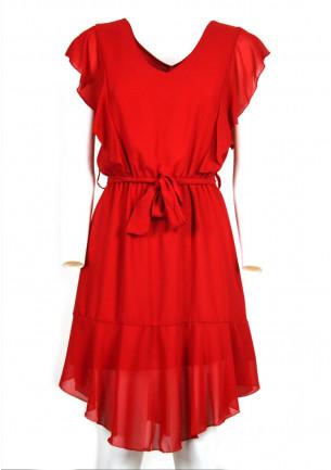 abito donna denny rose corto a ginocchio primavera estate leggero senza maniche girocollo scollato