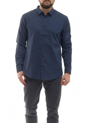ARMANI EXCHANGE camicia blu...