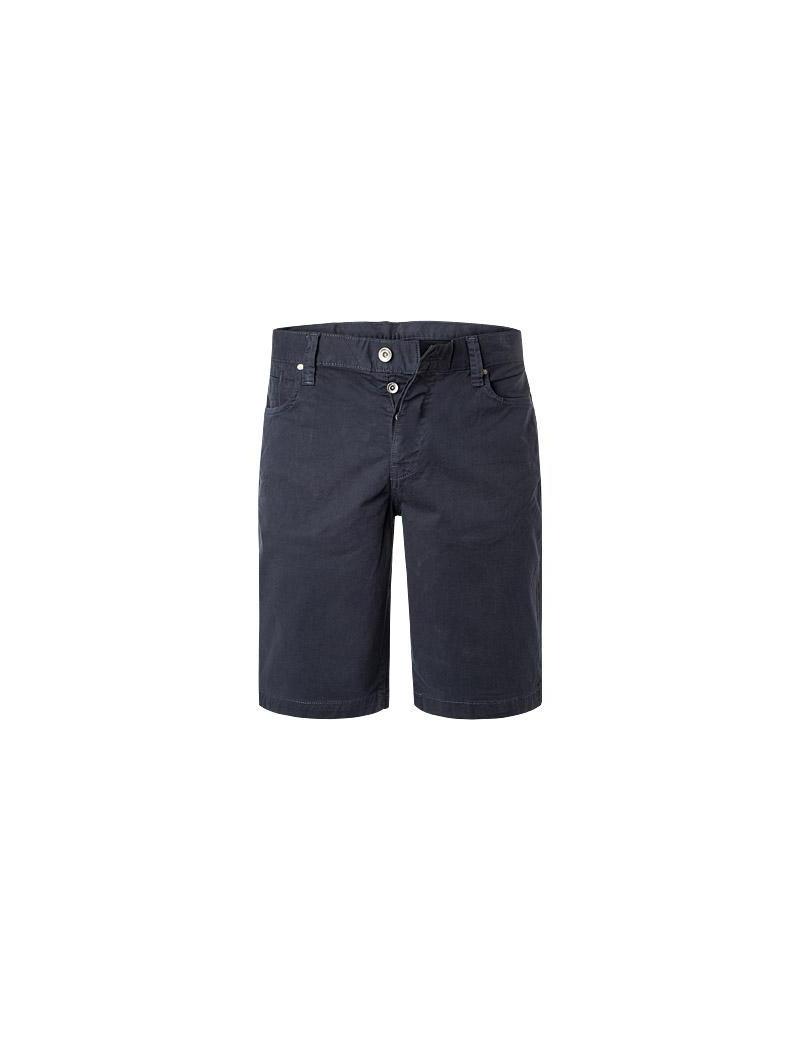 half off bf333 f032e ARMANI EXCHANGE pantaloni uomo corti bermuda estivi blu 3GZS17