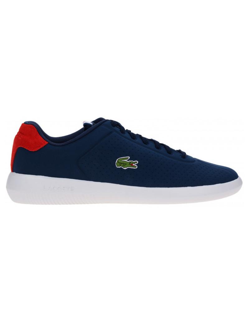 meet f4b85 72033 LACOSTE sneakers scarpe uomo blu basse sportive avance 119