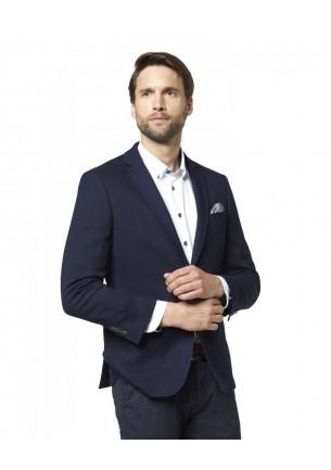 giacca uomo bugatti elasticizzata colore blu 2 bottoni e 2 spacchi