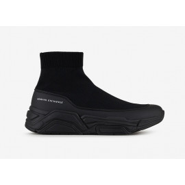 ARMANI EXCHANGE sneakers scarpe uomo sportive nere XUX029