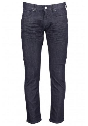 jeans uomo armanie xchange j13 slim fit aderente stretto colore blu scuro tinta unita