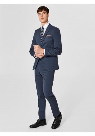 abito uomo blu slim fit offerta saldi moda lavoro ufficio cerimonia